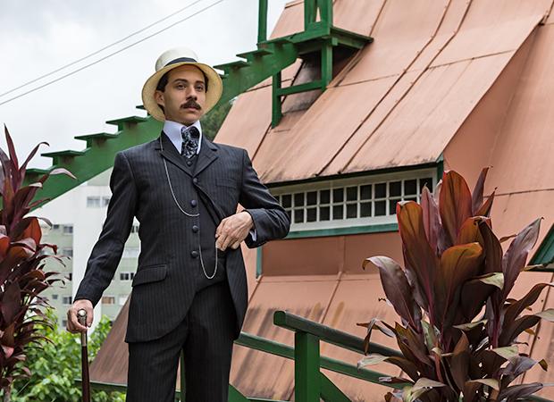João Pedro Zappa interpreta Santos Dumont na série da HBO (Foto: 2.Créditos: Divulgação/HBO/Ique Esteves)