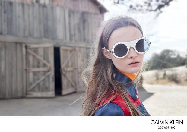 Modelo da Calvin Klein 205W39NYC  (Foto: Divulgação)