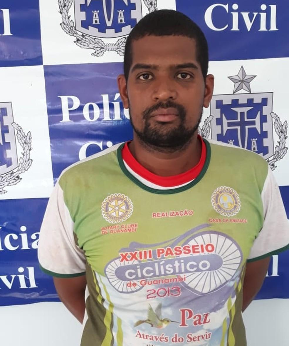 Homem é preso suspeito de estuprar filha de 6 meses no sudoeste da Bahia — Foto: Divulgação/Polícia Civil