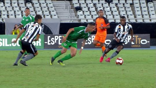 Por que o Botafogo venceu a Cabofriense: pressão no início do jogo foi suficiente