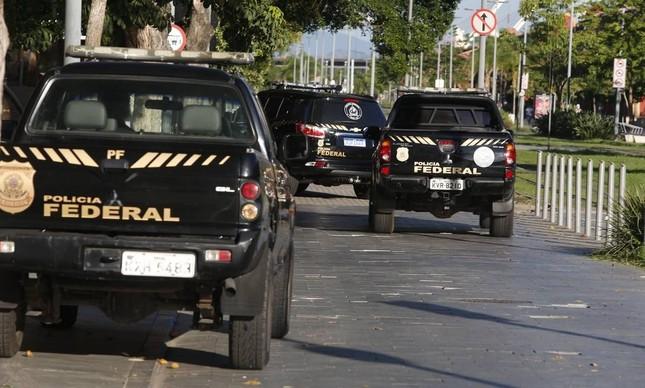 Polícia Federal cumpriu prisão preventiva de quatro desembargadores do TRT do Rio nesta terça-feira