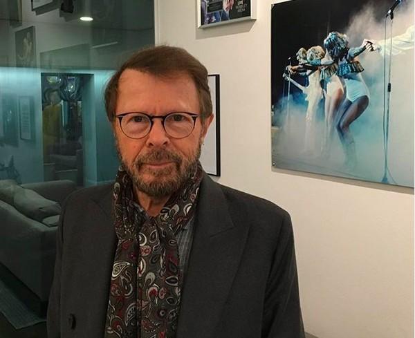 O músico Björn Ulvaeus, um dos fundadores do ABBA (Foto: Instagram)
