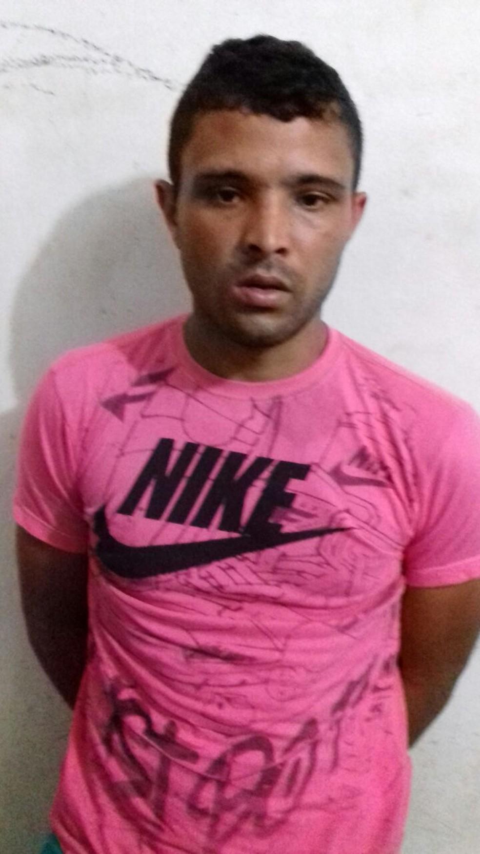 Jonas Pereira Teixeira confessou o crime à época — Foto: Polícia Militar de MT