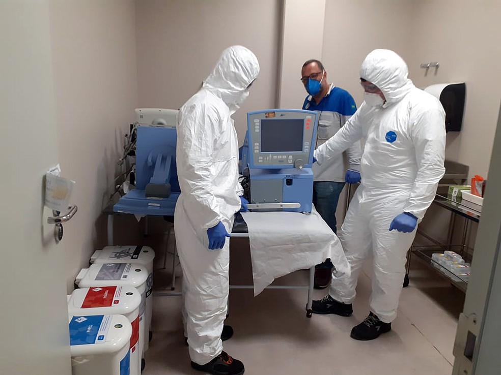 Fiat Chrysler vai consertar respiradores quebrados para ajudar no combate ao coronavírus — Foto: Divulgação