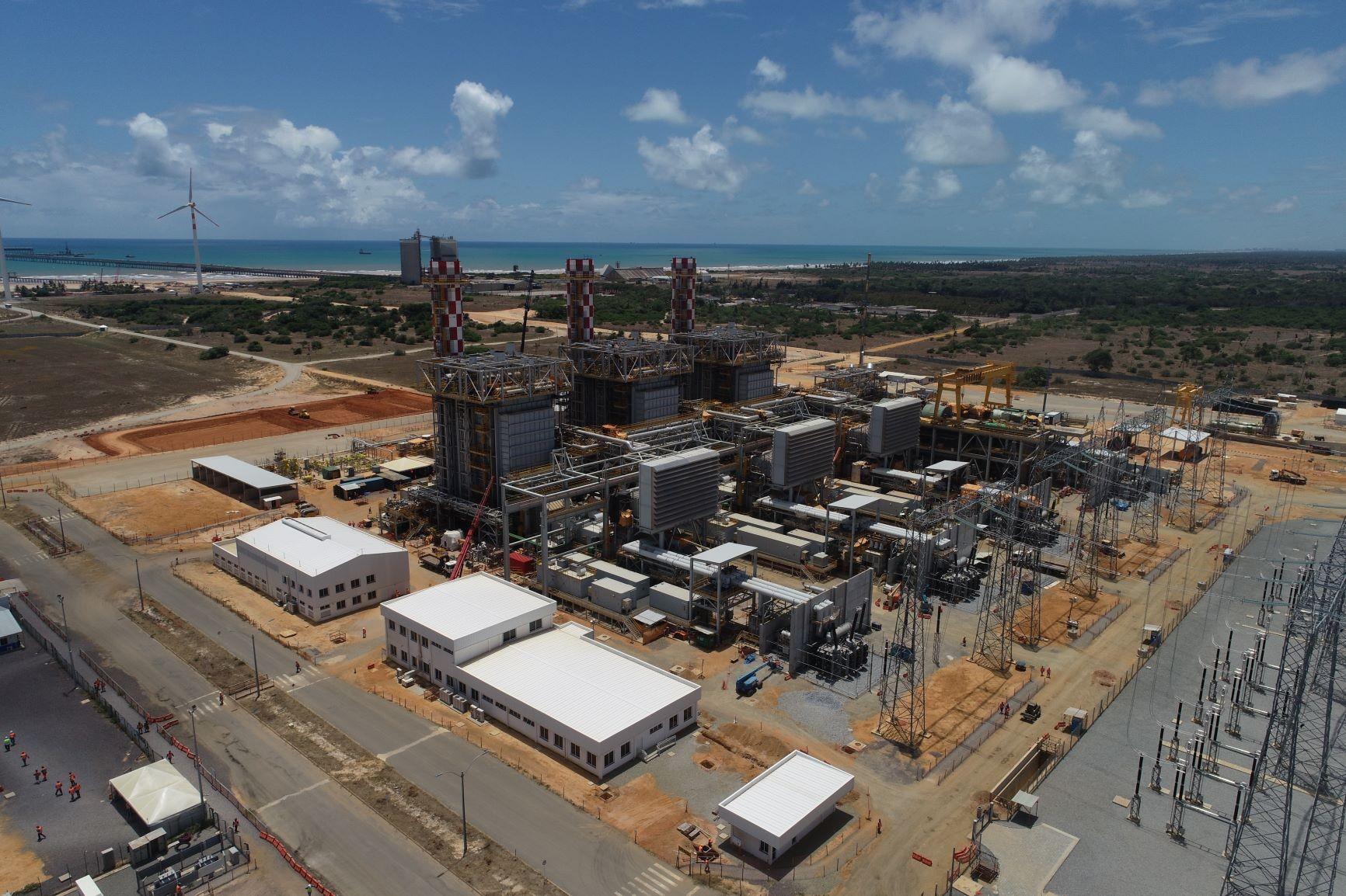 Usina Termoelétrica Porto de Sergipe I, na cidade de Barra dos Coqueiros, em Sergipe (Foto: Divulgação)