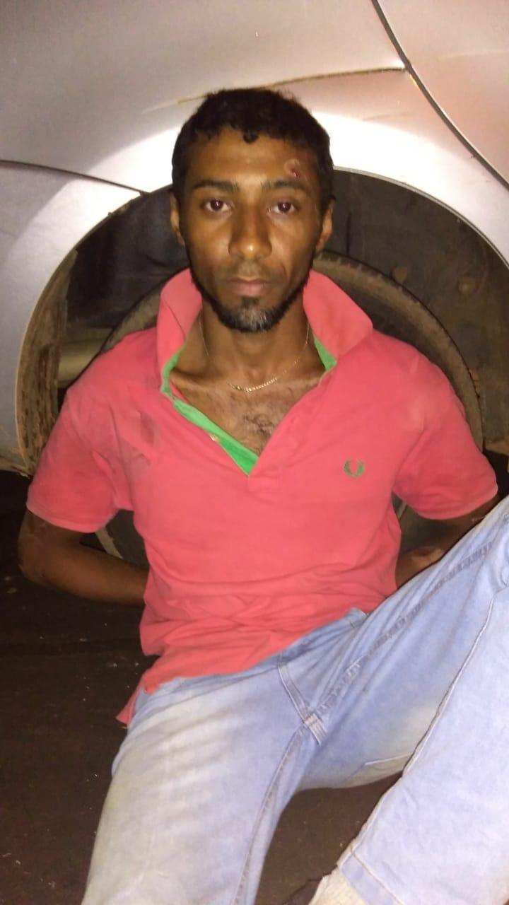 Suspeito de matar homem por ciúmes é preso no momento em que tentava fugir em Araguaína