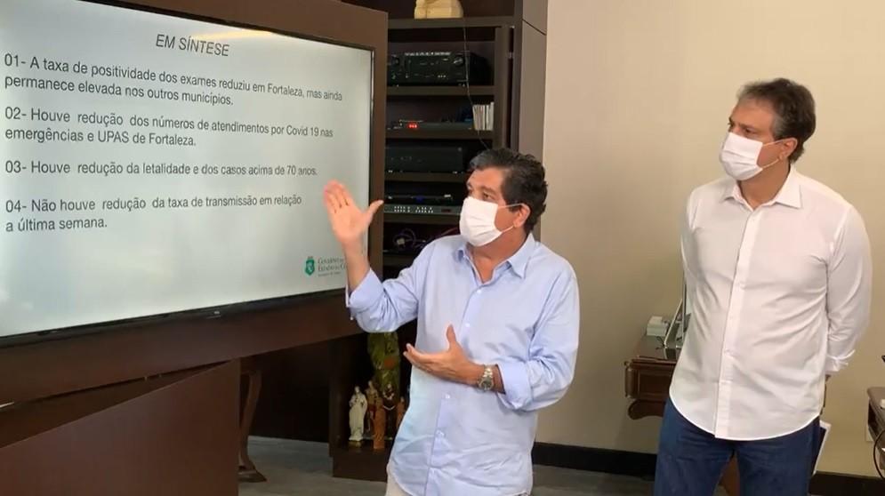 Ceará libera aulas do ensino médio, museus e cinemas, exceto para a região Cariri