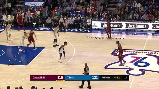 Veja o Top 10 de jogadas do candidato a MVP LeBron James na temporada 2017-2018