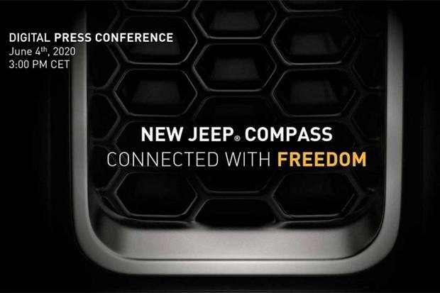 Teaser do novo Jeep Compass  (Foto: Divulgação )