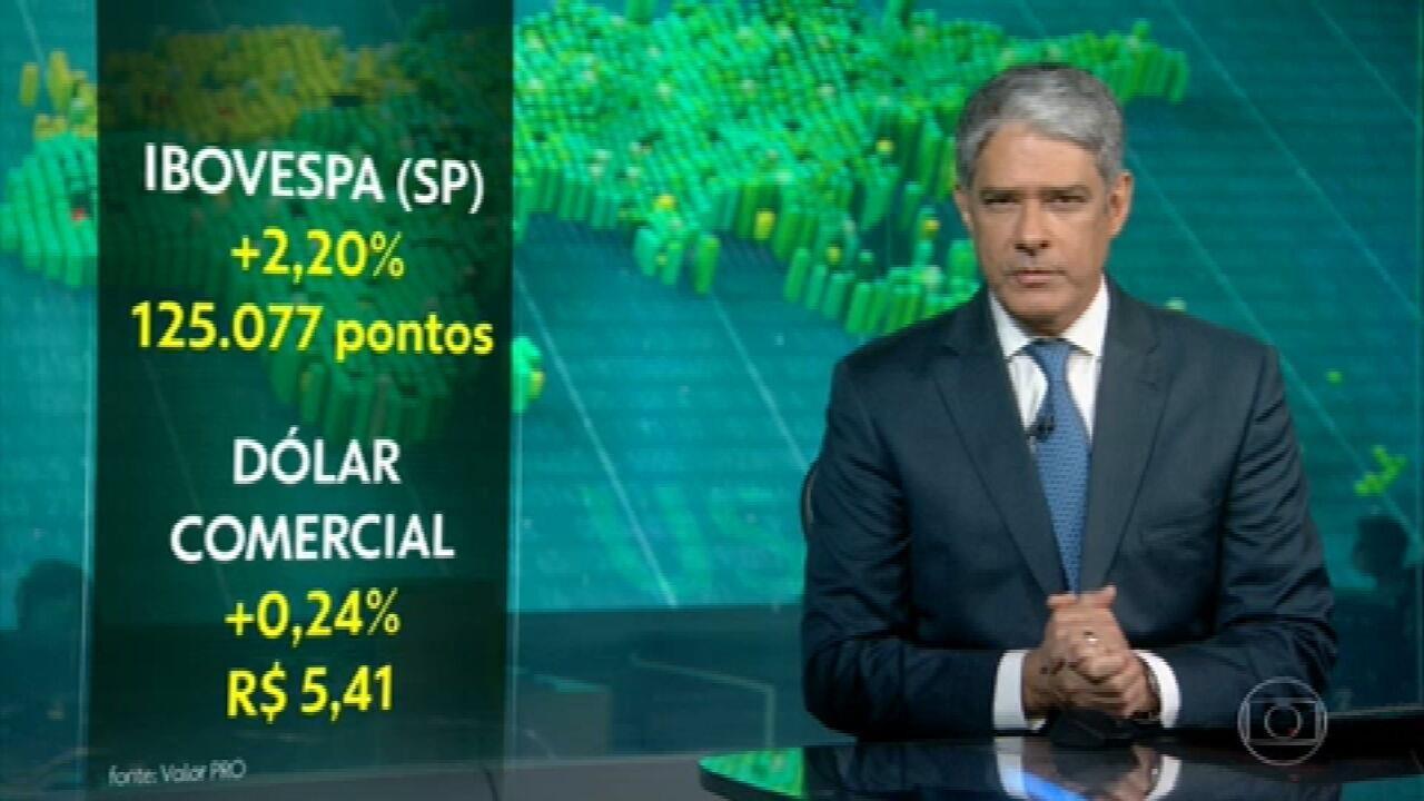 Bolsa de Valores brasileira fecha em alta de 2,2% e com novo recorde de pontos