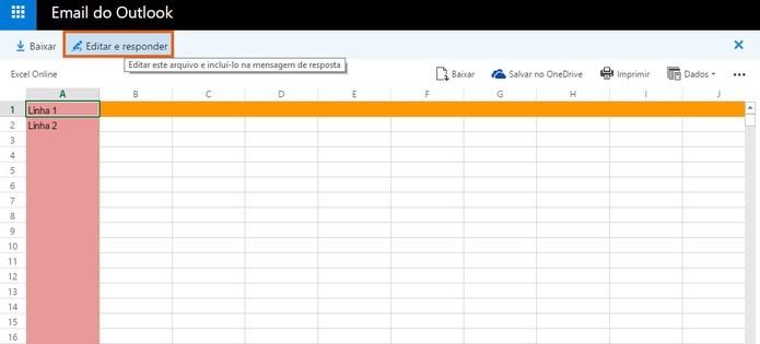 Como editar arquivos Word, Power Point e Excel no e-mail do Outlook