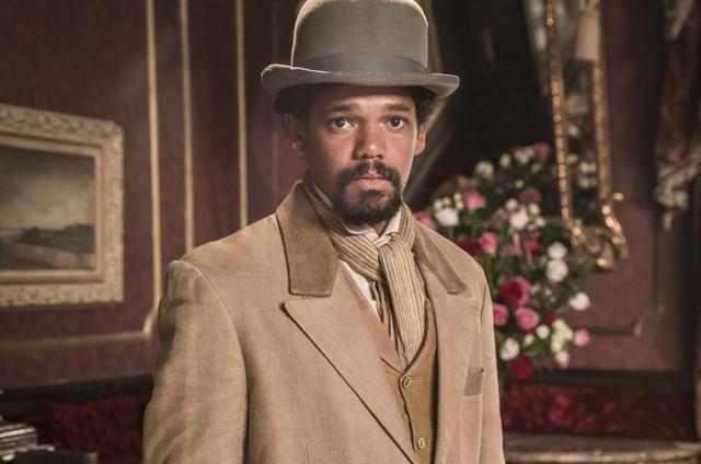 Michel Gomes é Samuel em 'Nos tempos do Imperador' (Foto: TV Globo)