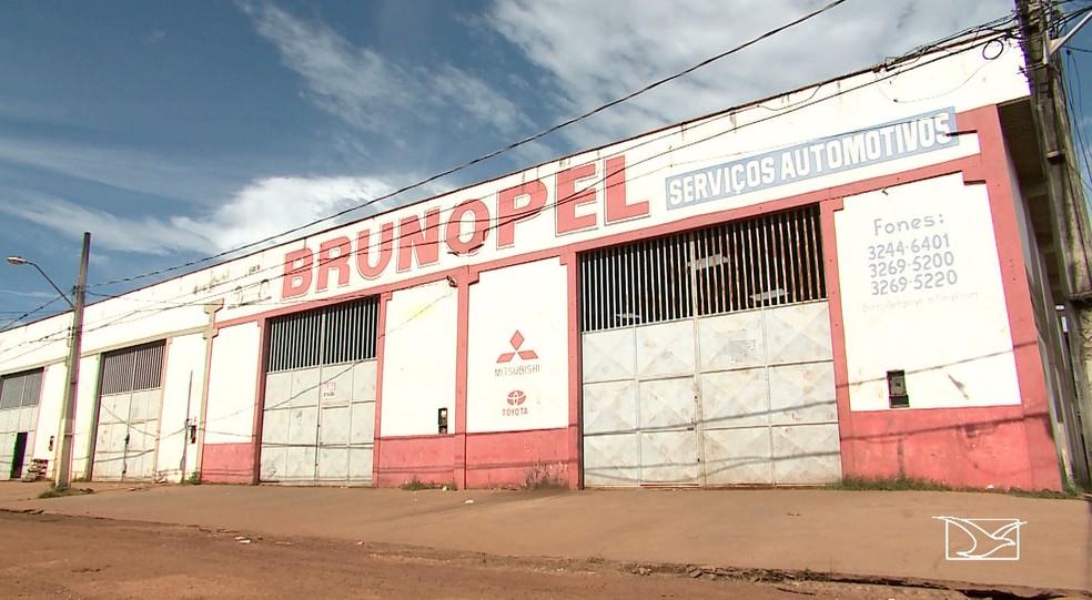 Autopeças Brunopel recebeu R$ 8,4 milhões de Anajatuba em peças e locação de veículos, segundo o TCE (Foto: Reprodução/TV Mirante)