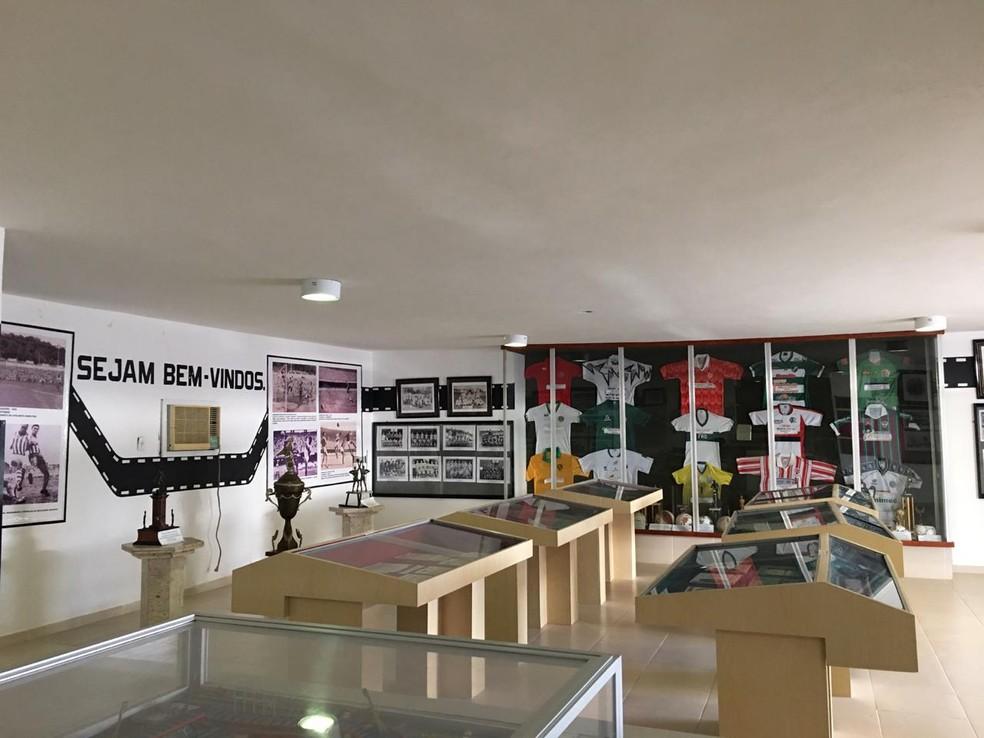 Museu dos Esportes foi inaugurado em 1993, em Maceió — Foto: João Alvim/GloboEsporte.com