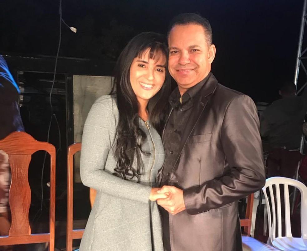 Cantor gospel Daniel e a esposa Crisânia — Foto: Reprodução/Instagram