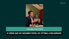 O vídeo que dá segundo papel de vítima a Bolsonaro