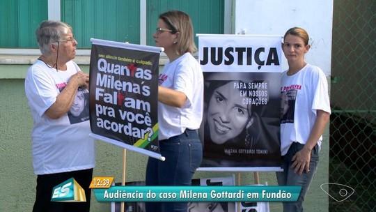 Testemunhas do caso Milena Gottardi são ouvidas em Fundão, no ES