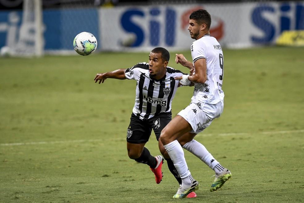 Atlético-MG venceu Botafogo sem muito esforço — Foto: Agência i7/Mineirão