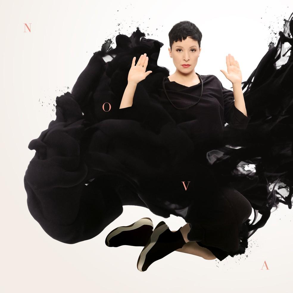 Capa do álbum 'Nova', de Patricia Marx — Foto: Biga Pessoa com arte de Marcelo Barros