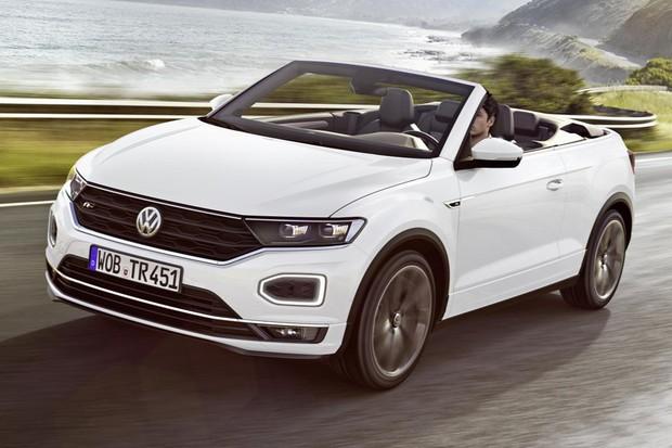 Volkswagen T-Roc foi apresentado a primeira vez como cabriolet (Foto: Divulgação)