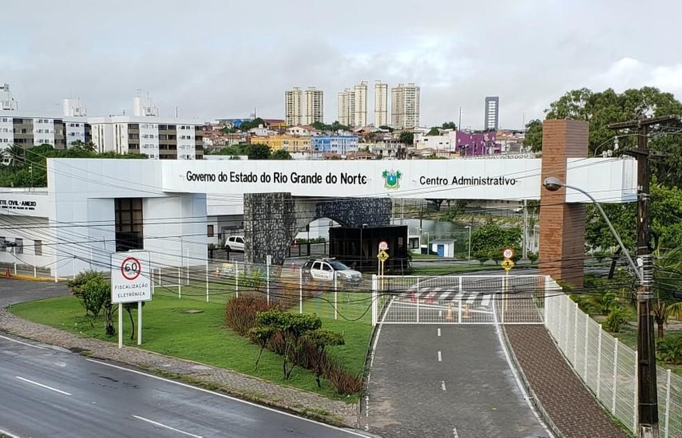 Centro Administrativo do Rio Grande do Norte — Foto: Bruno Vital/G1