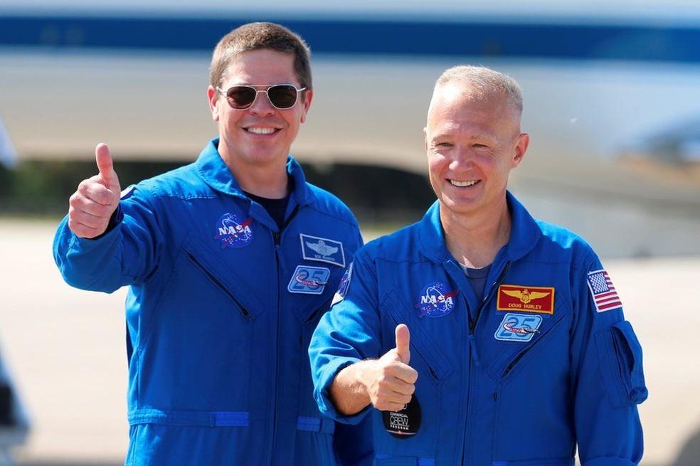 Quem são os astronautas da Nasa (e melhores amigos) que viajaram ao espaço em nave da SpaceX