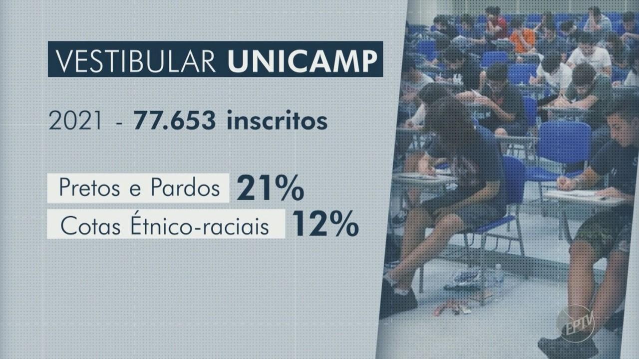 Vestibular da Unicamp tem 77,6 mil inscritos e registra recorde de alunos da rede pública