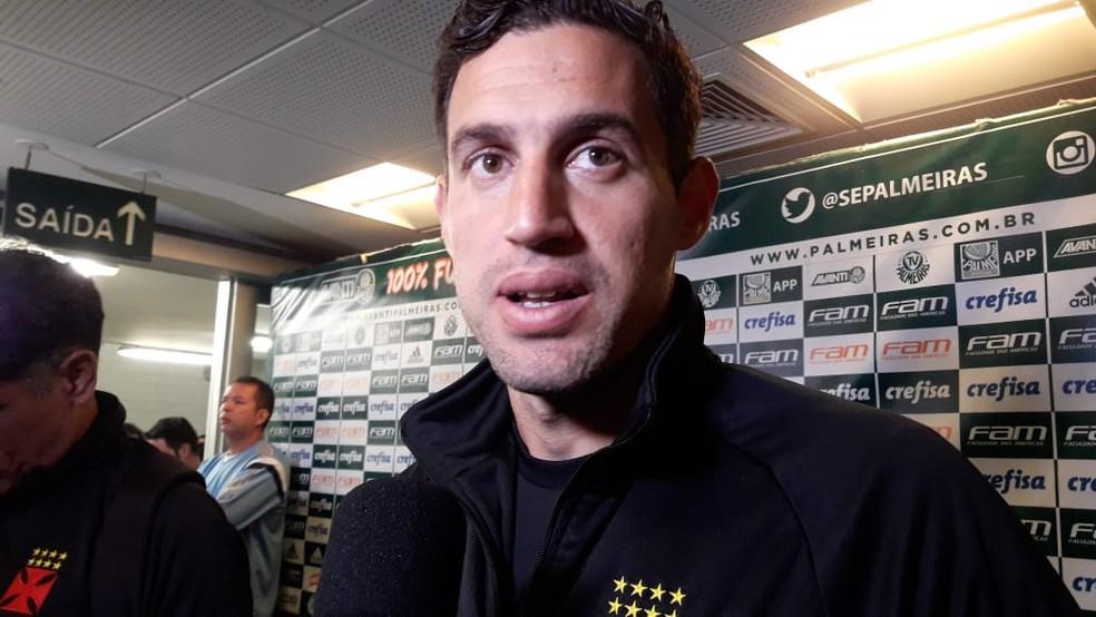 Martín Silva tem contrato com o Vasco até 2020 — Foto: Bruno Giufrida/GloboEsporte.com