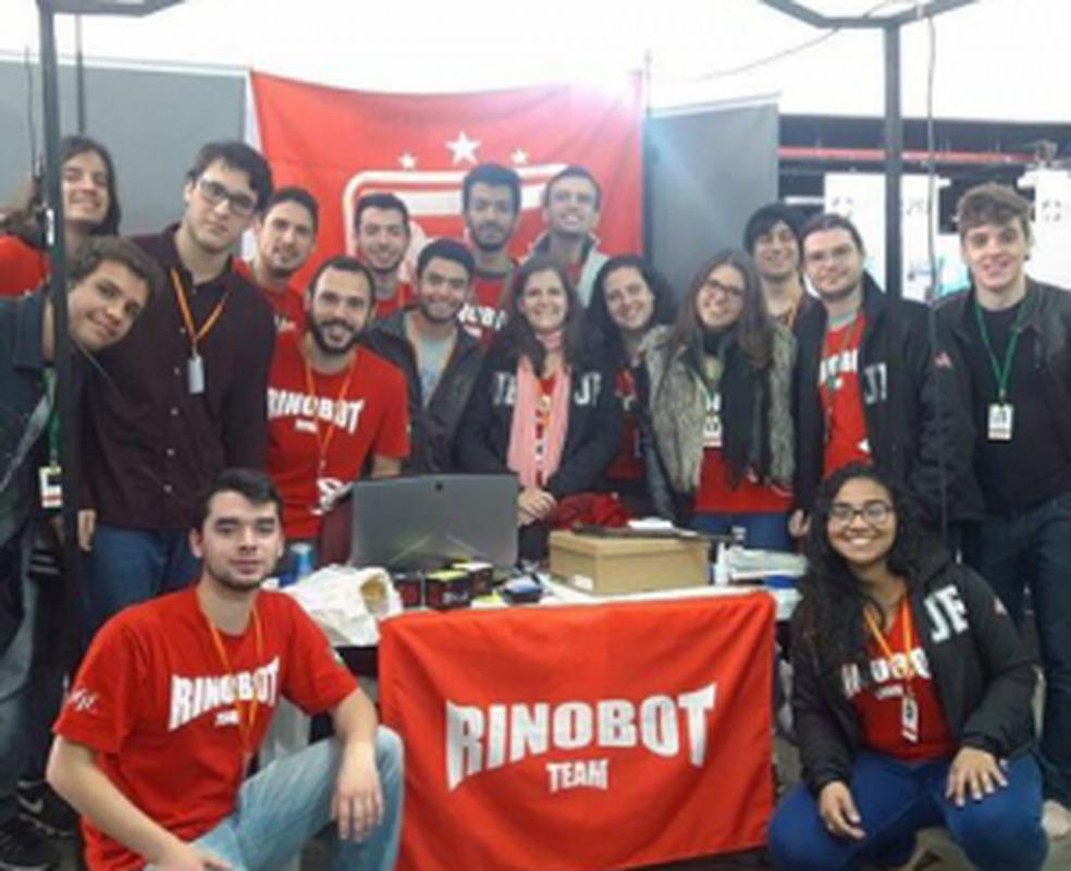 -  Equipe Rinobot da UFJF  Foto: UFJF/Divulgação