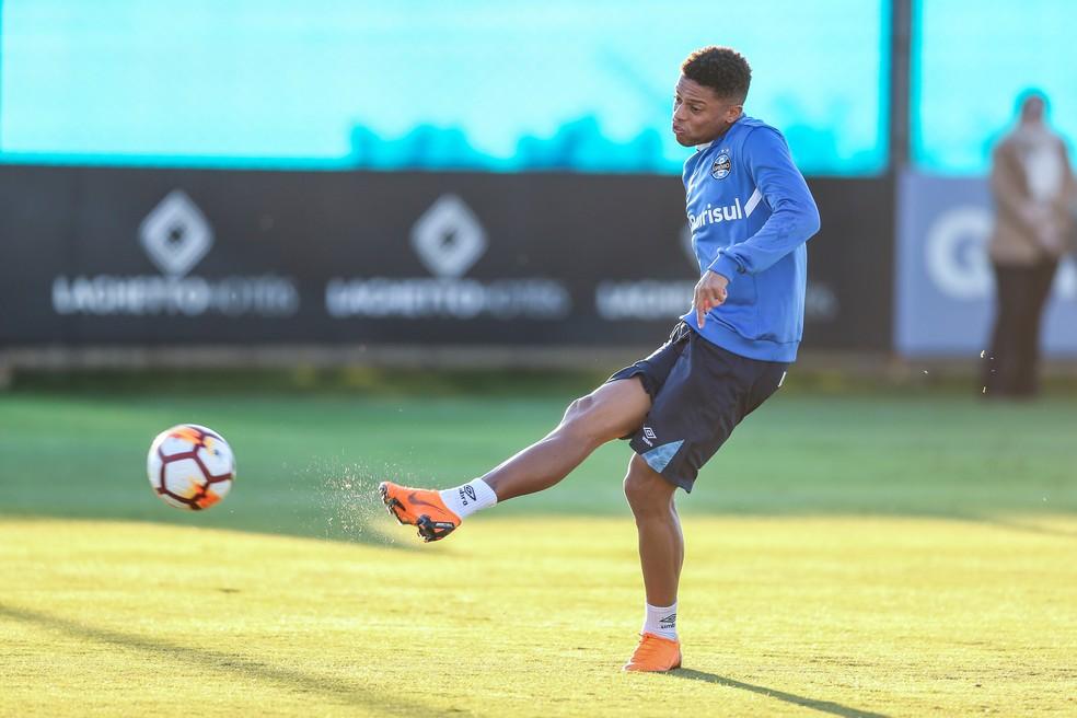 Ainda sem engrenar, André marcou dois gols na competição (Foto: Lucas Uebel / Grêmio / Divulgação)
