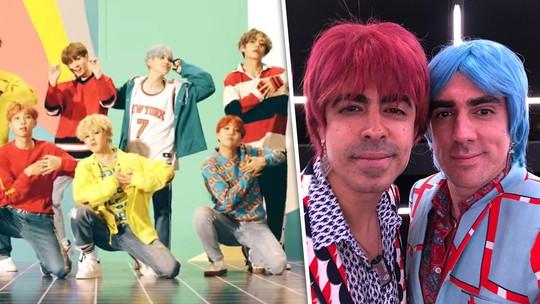 BTS no 'Tá No Ar': reveja a cena que parodiou o grupo de K-pop e aprenda a letra da música