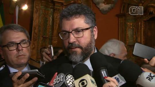 Ministro diz que pretende tratar sobre a Venezuela com China e Rússia em encontro do Brics