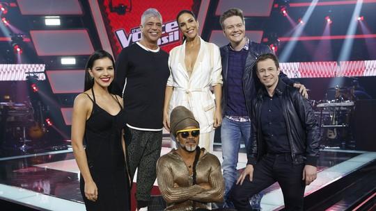 Supertime de técnicos do 'The Voice Brasil' abre sexta temporada do reality