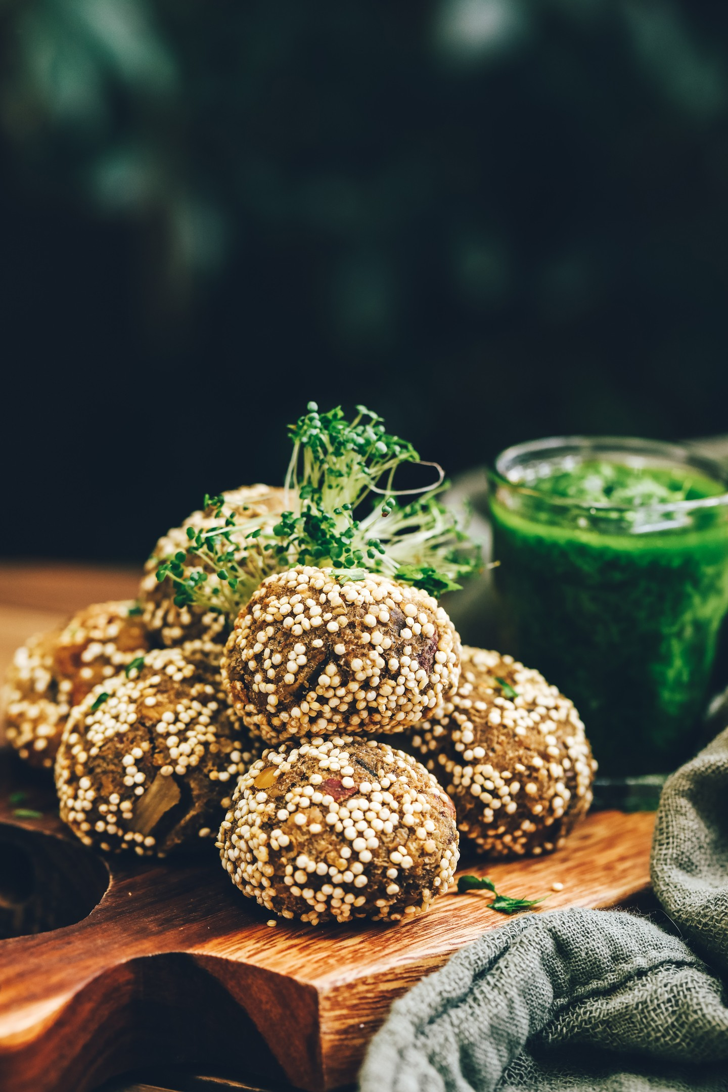 Receita vegana de bolinho crocante de quinoa  (Foto: Simplesmente)