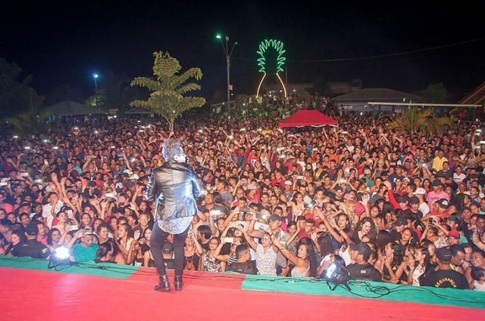 Frank Aguiar e  Jardel Santos  são atrações do 7º Festival do Abacaxi em Taraucá — Foto: Gilson Amorim/Assessoria
