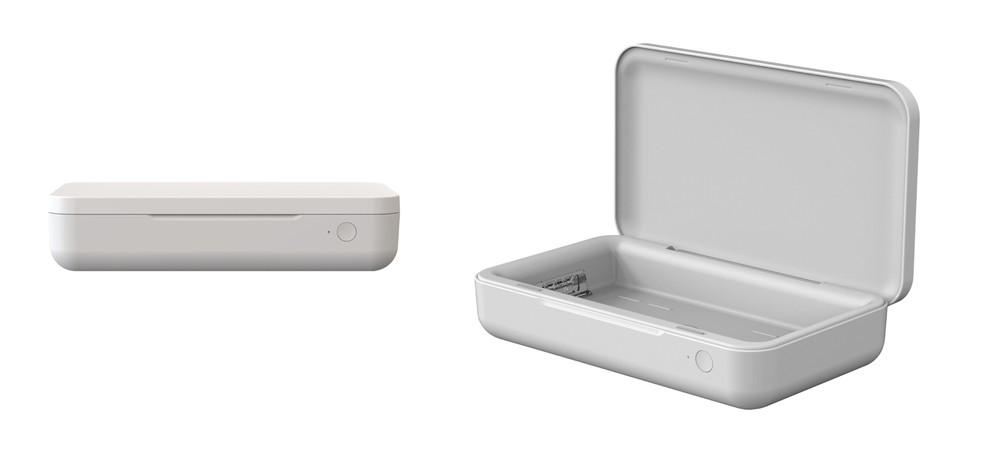 Carregador Samsung que mata bactérias com UV funciona em qualquer celular compatível com recarga sem fio Qi — Foto: Divulgação/Samsung