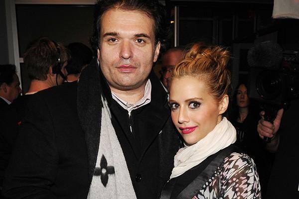Brittany e o esposo Simon Monjack (Foto: Getty Images)