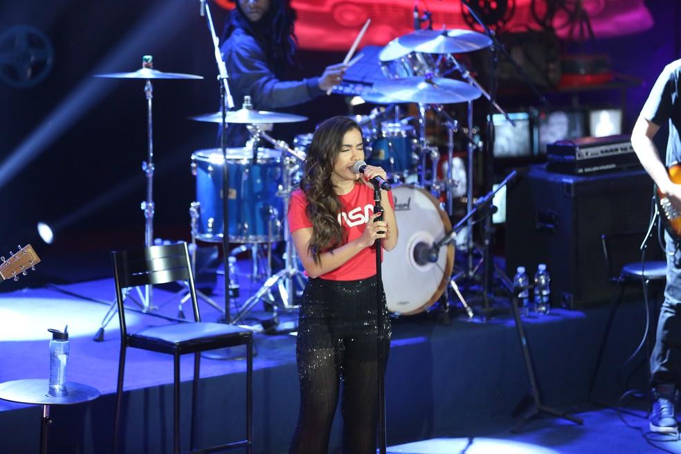 Anitta no Altas Horas (Foto: Mariana Revoredo/ TVGLOBO)