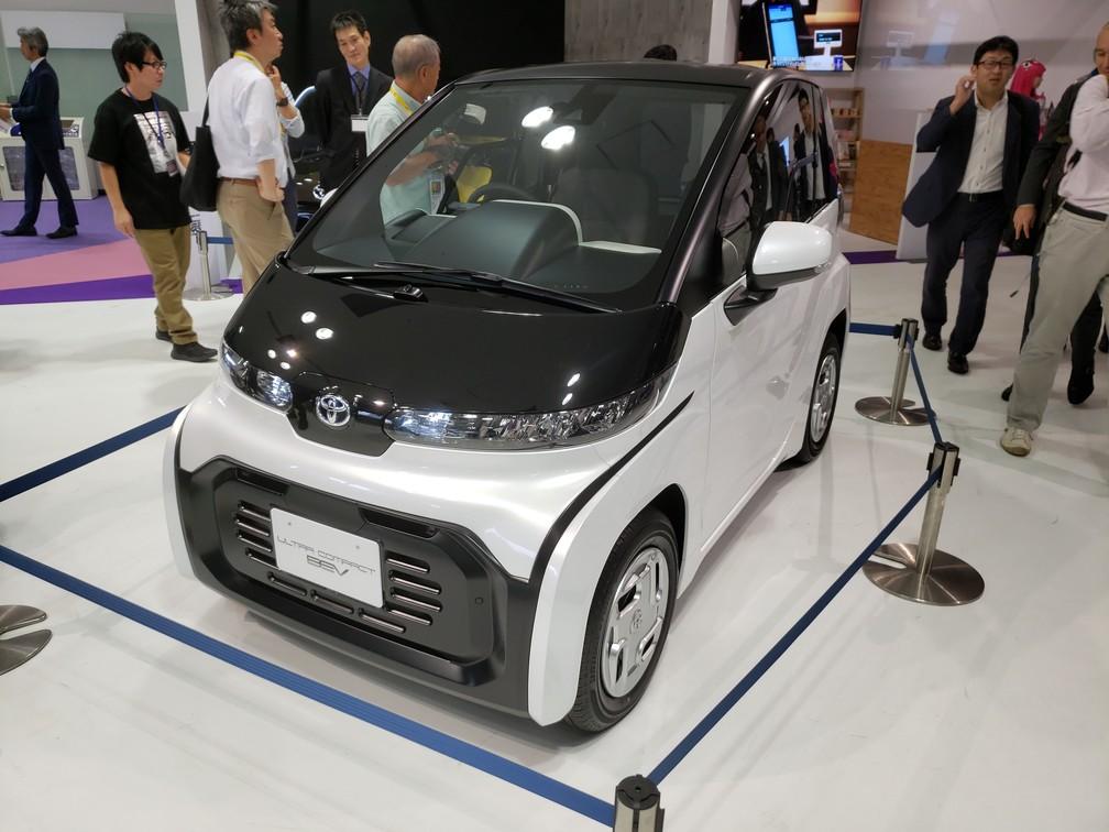 Toyota Ultra-compact BEV — Foto: Rafael Miotto/G1