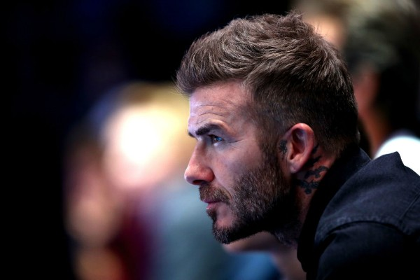 Novo penteado de David Beckham (Foto: Getty Images)