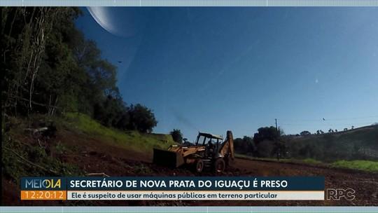 Secretário de viação e obras de Nova Prata do Iguaçu é preso pelo Gaeco