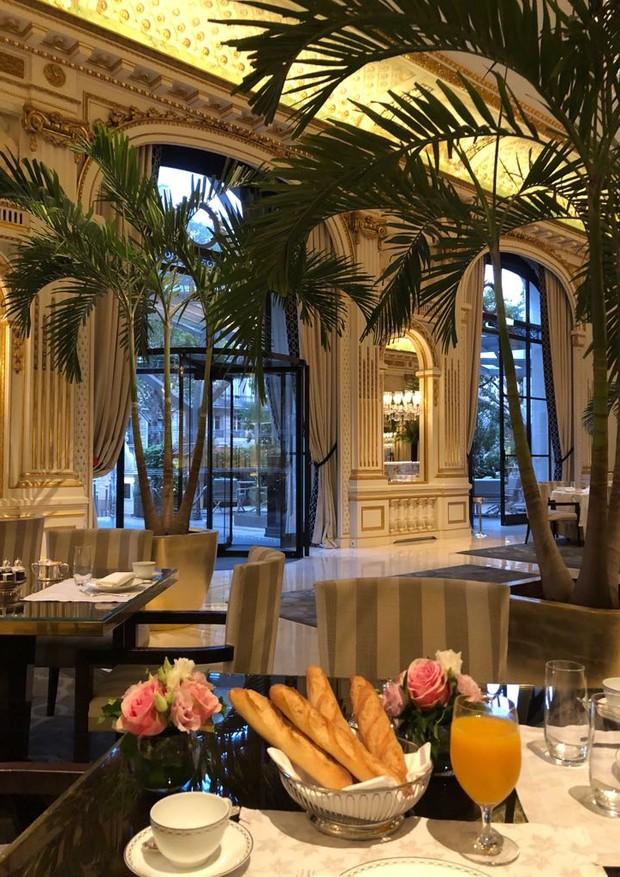 Café da manhã no hotel Peninsula (Foto: Divulgação)