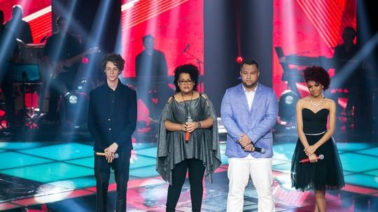 The Voice Brasil: reveja as apresentações ao vivo mais votadas pelo público