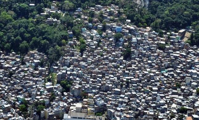 Vista aérea da Rocinha
