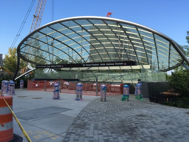 A nova estação, batizada de 34th Street-Hudson Yards, será aberta ao público na tarde do domingo (Foto: Wikimedia Commons)