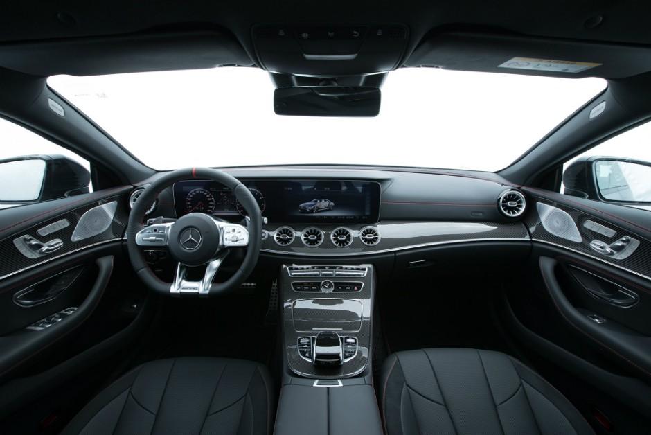Interior do Mercedes-AMG CLS 53 EQ Boost  (Foto: Divulgação)