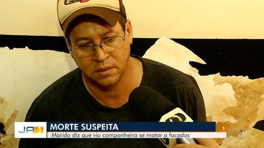Marido é preso suspeito de matar mulher a facadas e dizer à polícia que ela havia se suicidado, em Itumbiara