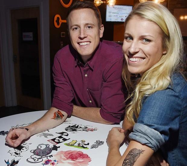 Jordan e Denny Momentary Ink  (Foto: Divulgação)