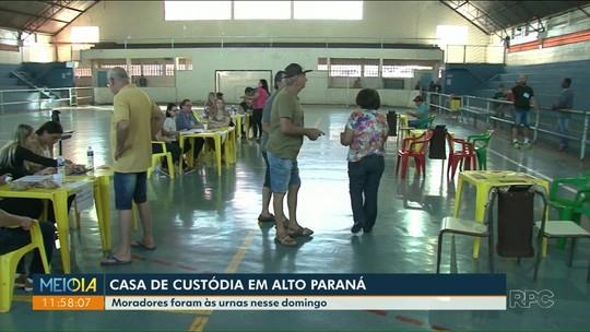 Em plebiscito, moradores de Alto Paraná reprovam projeto para construção de casa de custódia
