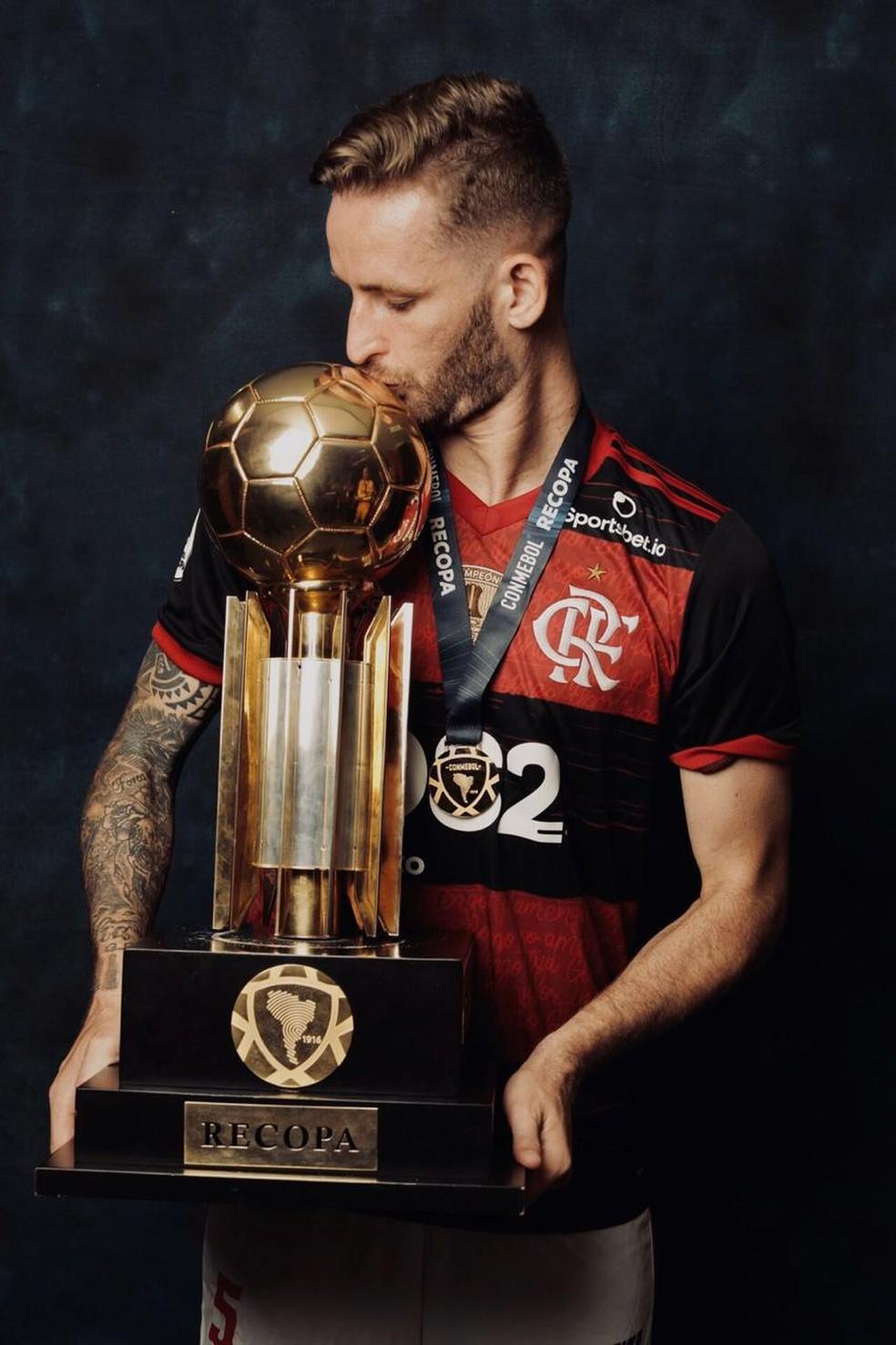 Léo Pereira Flamengo — Foto: Divulgação Conmebol